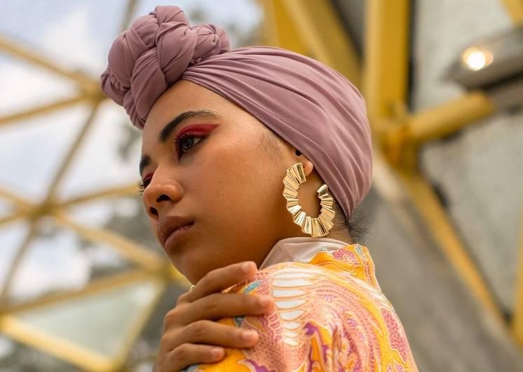 как завязать платок на голове красиво