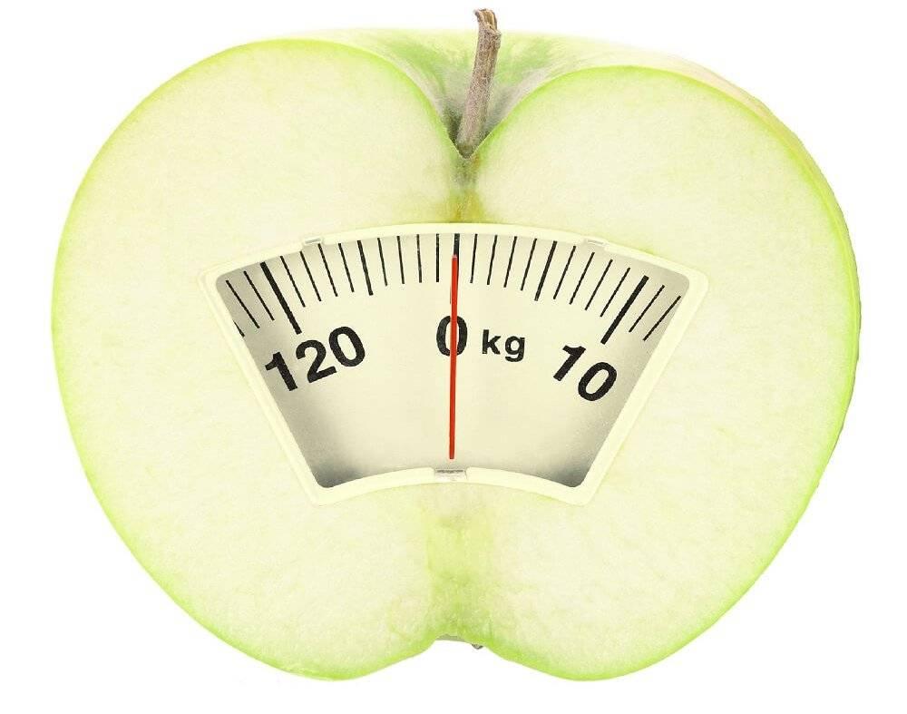 Результаты яблочной диеты