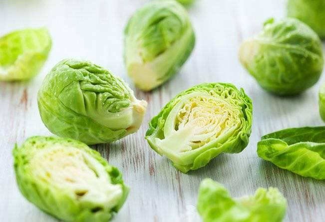 Брюссельська капуста. Все про брюссельську капусту. В цій статті мова йде про брюссельській капусті, її склад, властивості і користь.