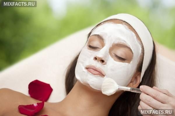 Білкова маска для обличчя від зморшок