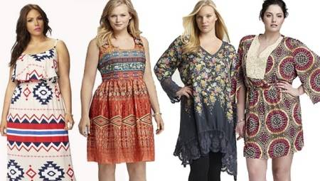 Бохо-стиль для повних (64 фото): в'язані речі в стилі бохо для жінок після 50, правила використання елементів бохо в одязі