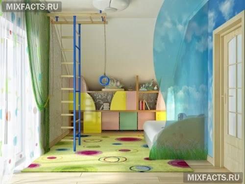 Дитячий інтер'єр для хлопчиків (фото)