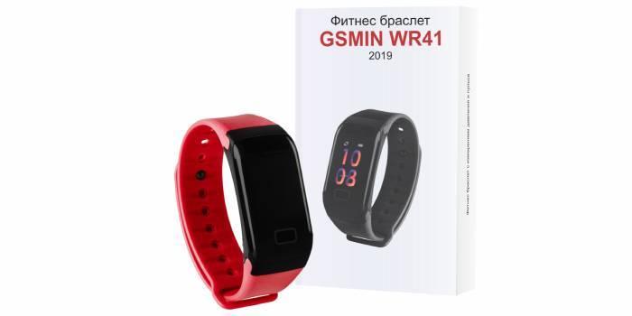 Фітнес-браслет GSMIN WR41