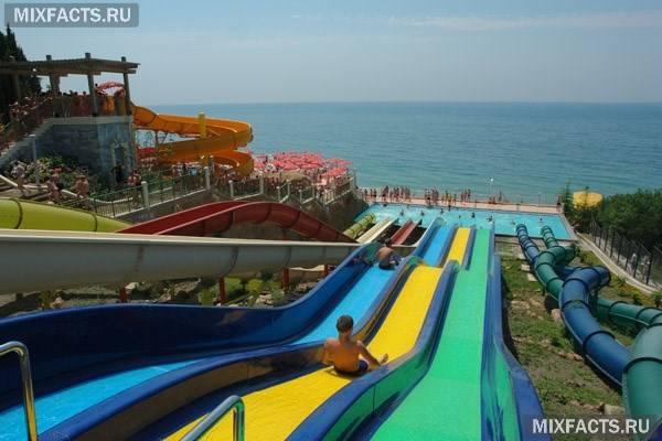Готелів Криму «все включено» з аквапарком