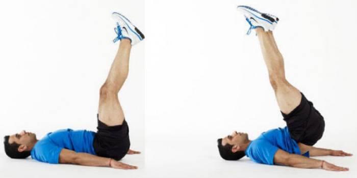 Комплекс вправ для схуднення ніг перед сном