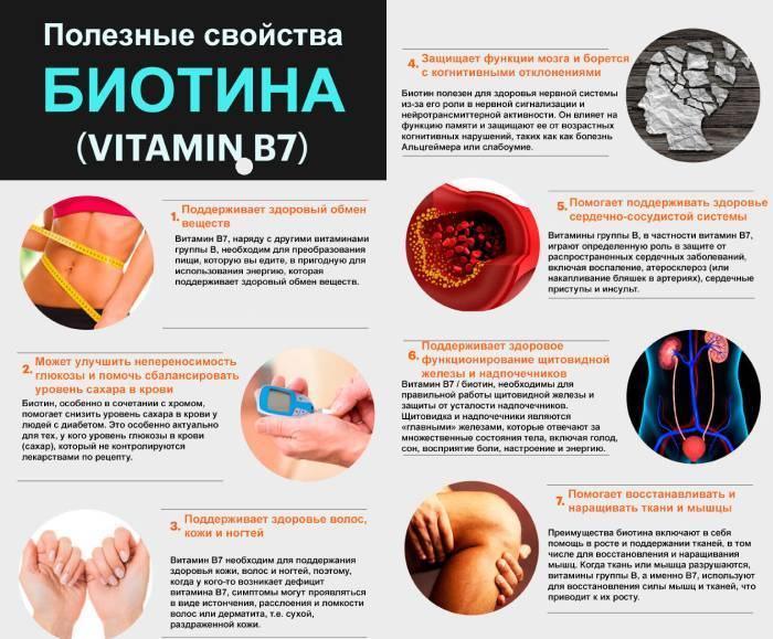 Користь біотину для організму