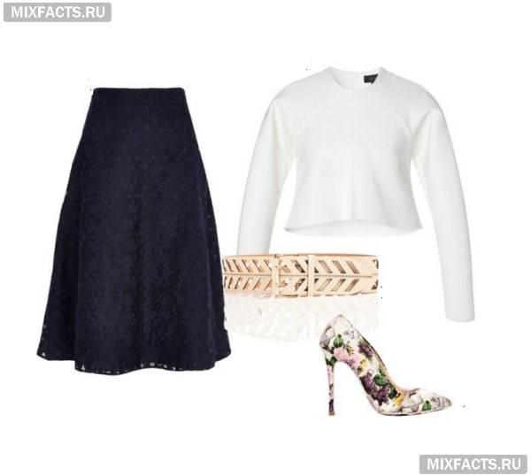 Кроп-топ: 4 модних образу (фото)