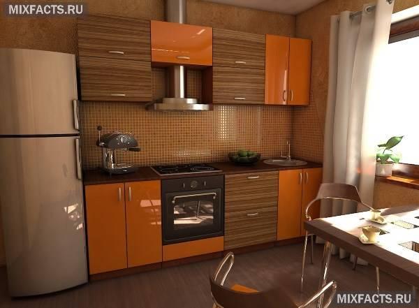 Кухні помаранчевого кольору: особливості оформлення інтер'єру