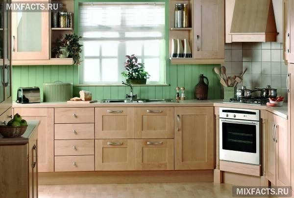 Кухня в зелених тонах: ідеї дизайну (фото)