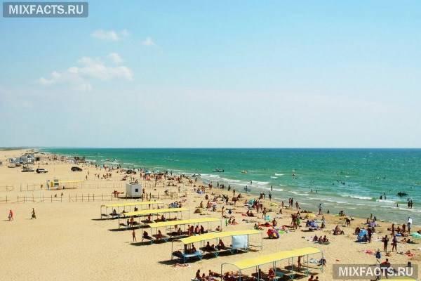 Курорти Краснодарського краю з піщаними пляжами