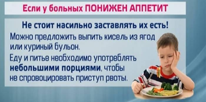 Лікувальна дієта при кишкових інфекціях у дітей і дорослих