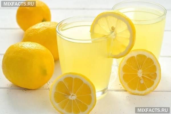 Лимонний сік натщесерце для очищення печінки