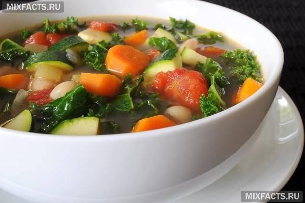 Овочевий суп для схуднення (рецепт)