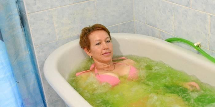 Показання та протипоказання перлинних ванн