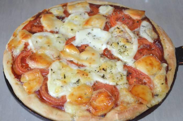 Покроковий рецепт піци Маргарита