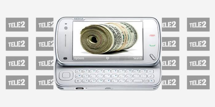 Послуга Довірчий платіж від оператора мобільного зв'язку Tele2