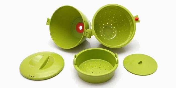 Посуд для приготування та розігріву в НВЧ