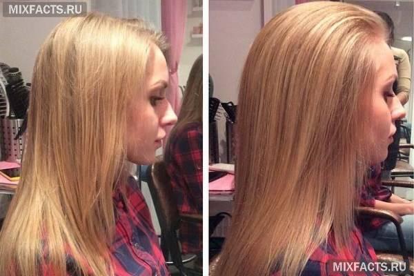 Процедура буст ап для волосся