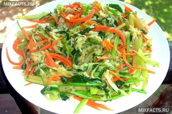 Салат-щітка для схуднення (рецепт)