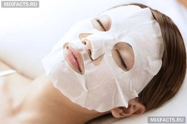 Тканинні маски для обличчя – топ кращих виробників і правила використання