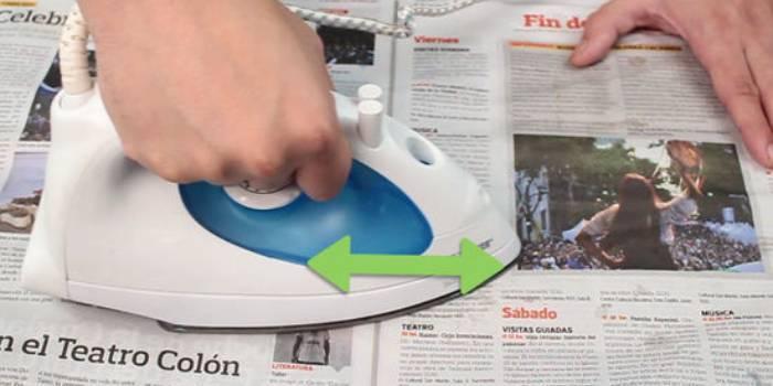 Як почистити підошву праски в домашніх умовах