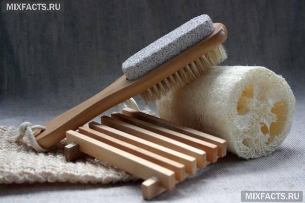 Як почистити п'яти від огрубілою шкіри?