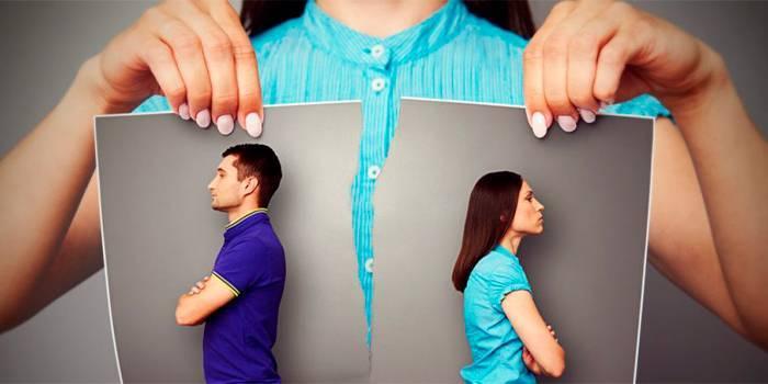 Як сказати чоловікові про розлучення