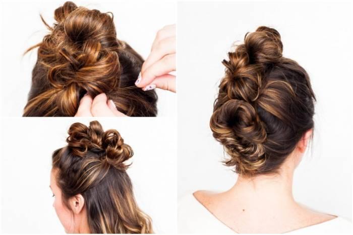 Як укласти кучеряве волосся