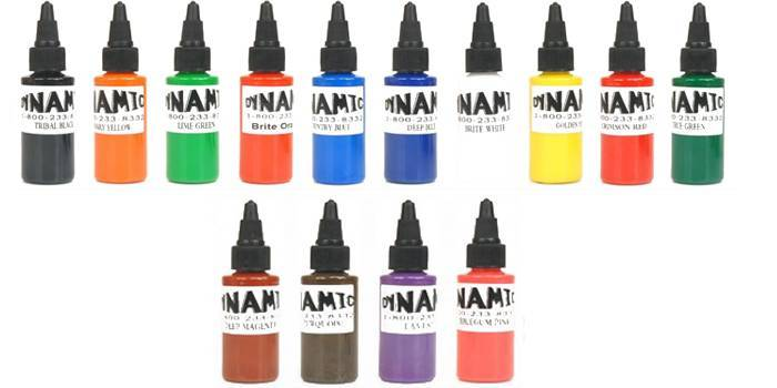 Як вибрати хорошу фарбу для татуювань