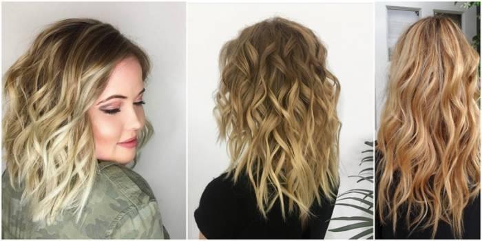 Як завити хвилі на волоссі