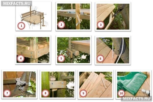 Як зробити будиночок на дереві своїми руками?
