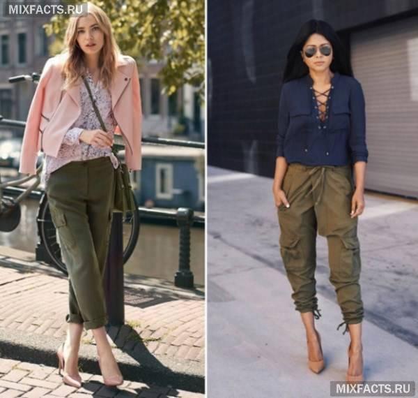 З чим носити брюки карго – чоловічі та жіночі образи з фото