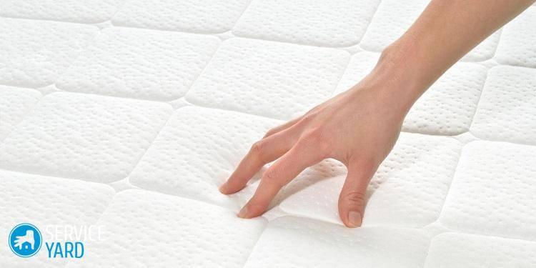 Як почистити матрац в домашніх умовах від запаху і плям?