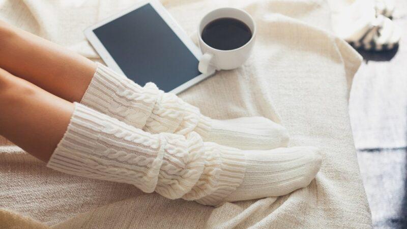 Красочные теплые женские носки от лучших производителей