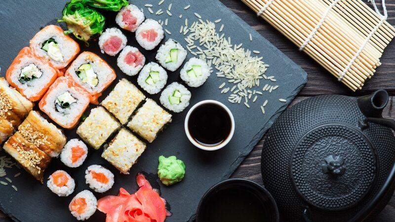 Топ 5 видов суши для доставки домой